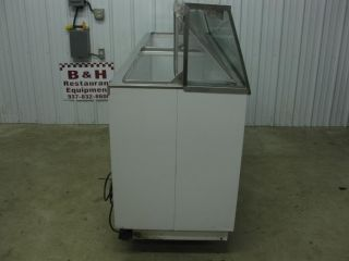 "Kelvinator 88"" Ice Cream Dipping Cabinet Freezer 16 Tub"