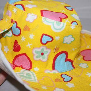 Girl Baby Toddler Beach Sun Summer Hat Cap 6M 4yrs J76R