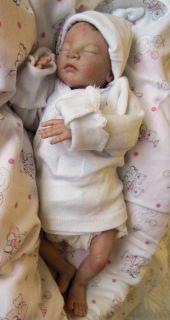 Reborn Newborn Preemie Baby Dalyn from The 'Caleb' Kit by Heather Boneham