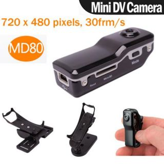 Mini md80 sport spy camera camcorder dv dvr webcam tf card 180