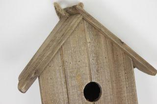 Driftwood Bird House Garden Items Bird Feeder Animal Wildlife Wooden