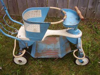 Vintage 1950s Taylor Tot Baby Stroller