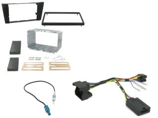 Mercedes E Class Car Stereo Double DIN Radio Replacement Fitting Kit CTKMB06
