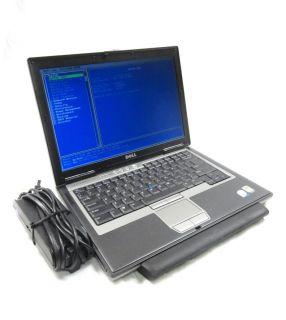 """Dell Latitude D620 14"""" Laptop 2 16GHz Core 2 Duo 4GB PC2 5300 80GB DVDRW"""
