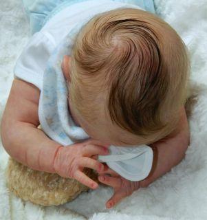 Brandaholic Babies Reborn Newborn Baby Girl Sole Livia by Gudrun Legler