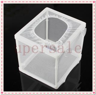 Fish Tank Hatchery Partitions Aquarium Breeding Breeder Soft Net Suction Cups