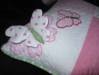 Maggie Miller Girl Bed Pillows Butterflies Round Square Long Jillian's Closet