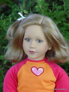 New in Box My Twinn Doll Channing Light Green Eyes and Ash Blonde Hair
