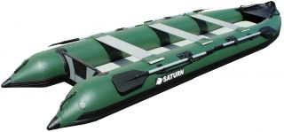 15' Saturn Inflatable Extra Heavy Duty Expedition Crossover Boat Kaboat SK470XL