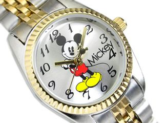 New Disney Mickey Mouse MCK618 Cartoon Pattern Men's Quartz Bracelet Wrist Watch