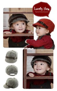 Cute Wool Baby Toddler Child Boy Girl Beanie Hat Cap 3 Colors