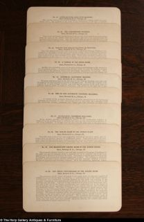 Roebuck Co 1900 Antique Set of 50 Stereopticon Cards