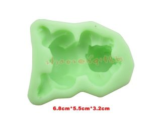 Lovely Baby Boy Cavity Fondant Silicone Silicon Mold Mould for Handmade Soap DIY