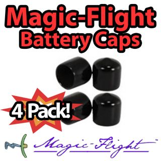 Magic Flight Launch Box Battery End Caps Vaporizer Original Cap New 4 Pack