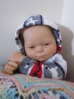 Reborn Jarod Sculpt by Laura Lane Life Like Baby Boy Doll 4 New Outfits