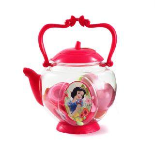 17pc Disney Princess Snow White Girls Pretend Play Teapot Tea Party Supply Set