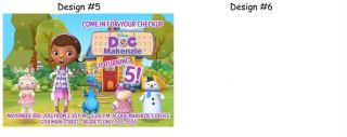 Doc McStuffins Birthday Party Ticket Invitations Supplies Favors Photo