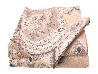 Elite Milano Paisley Collection 100 Percent Cotton Sateen 4 Piece Sheet Set King