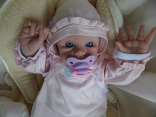 Mimi's Nursery Reborn Life Like Baby Dolls Newborn Leslie Nicole with Belly