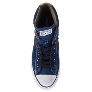 Converse Star Player EV Mid Blue Trainers Mens