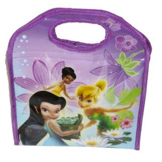 Disney Fairies Tinkerbell Soft Lunch Sack Insulated Lunch Bag