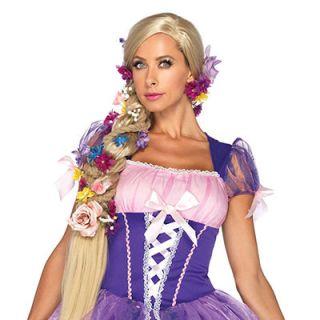 Adult Disney™ Princess Rapunzel Long Blonde Wig Halloween Costume Accessory