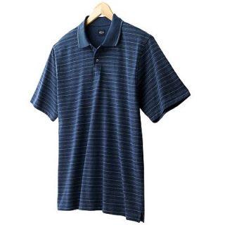 NWT Arrow USA 1851 Striped Soft Silky Premium Cotton Polo Casual Mens Shirt