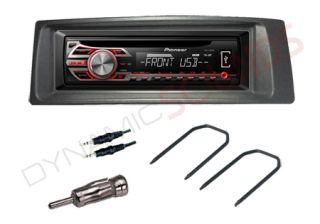 Renault Megane Coupe Fitting Kit with Pioneer DEH 1500UB Car CD MP3 USB Stereo 0001256261602