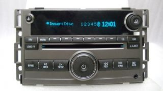 New 08 09 Chevy Chevrolet Malibu Radio Stereo 6 Disc Changer  CD Player