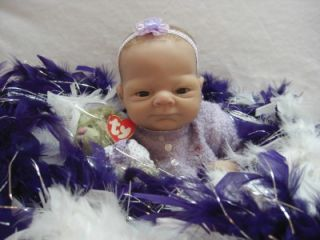 Ashton Drake So Truly Real Angels Danced Baby Doll Emily by Linda Webb to Reborn