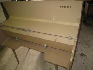 Vintage Brother Knitting Machine Table Stand Cabinet PU Pick Up California