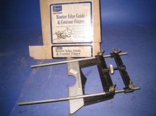 Vintage Craftsman Router Edge Guide Contour Finger 25173 11P