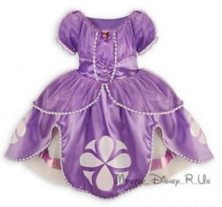 New Disney Store Exclusive Sophia The First Princess Costume Dress Purple 18 24