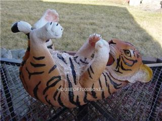 Bengal Orange Tiger Cub Wine Bottle Holder House Home Decor Kitchen Vino
