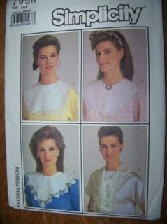 Gibson Tuck Blouse Circa 1910 Lace Collars Sewing Patterns Victorian Reenactment