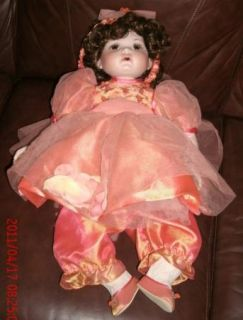 "26"" Marie Osmond Doll Remember Me Coming Up Roses"