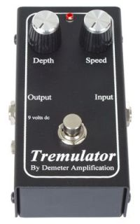 New Demeter Tremulator Tremolo Pedal Free Shipping