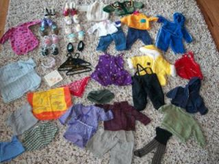 53 PC Lot American Girl Lot Baby Doll Clothes Outfits Shoes Accessories Toys
