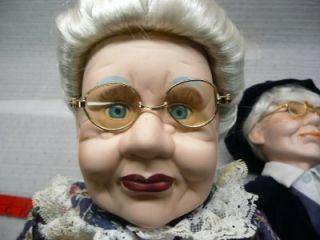 Ashley Belle Porcelain Grandma Grandpa Dolls Old People