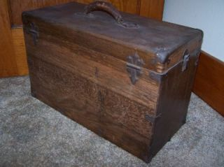 Vintage Machinist Tool Box Schartow Tron Sipco Products Jeweler's Chest Wood Box