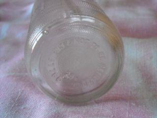 Vintage Pepsi Bottle Embossed Pepsi Logo 10 oz No Deposit No Return Bottle
