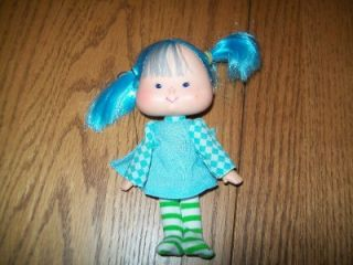 Vintage Original Blueberry Muffin Strawberry Shortcake Bendable Doll and Clothes