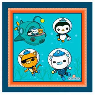 Octonauts Birthday Party Supplies Pack of 16 Lunch Napkins 33cm x 33cm