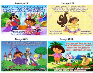 Dora The Explorer Go Diego Go Birthday Party Ticket Invitations Supplies Favors