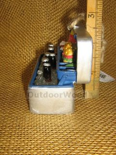 Tackle Box Cooler Full of Food Beer Fishing Lures Ornament by MW Cannon Falls