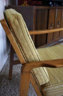 Vtg Mid Century Danish Modern Larsen Selig Style Lounge Chair