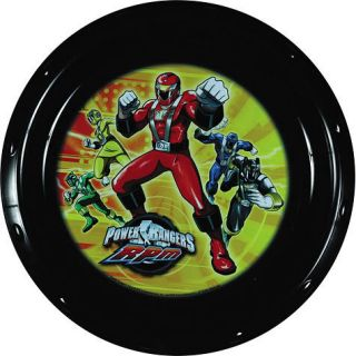 All Occasion Keepsake Power Rangers RPM Kids Snack Plate Party Supplies