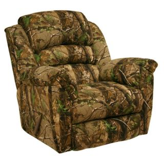 Catnapper High Roller Realtree Camo Chaise Rocker Recliner 8031181815