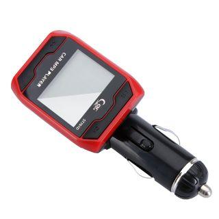"Kit Car  Player Wireless FM Transmitter Stereo USB SD MMC LCD 1 4"" Remote"