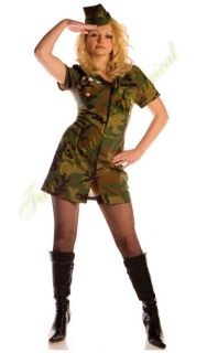 US Army Girl Costume Military Surrender Adult Men 28920